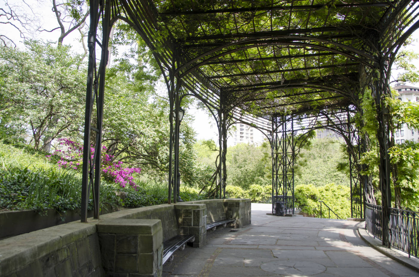 Genial A Must Stop Spot For Central Park Lovers: The Conservatory Garden   Garden  Collage Magazine