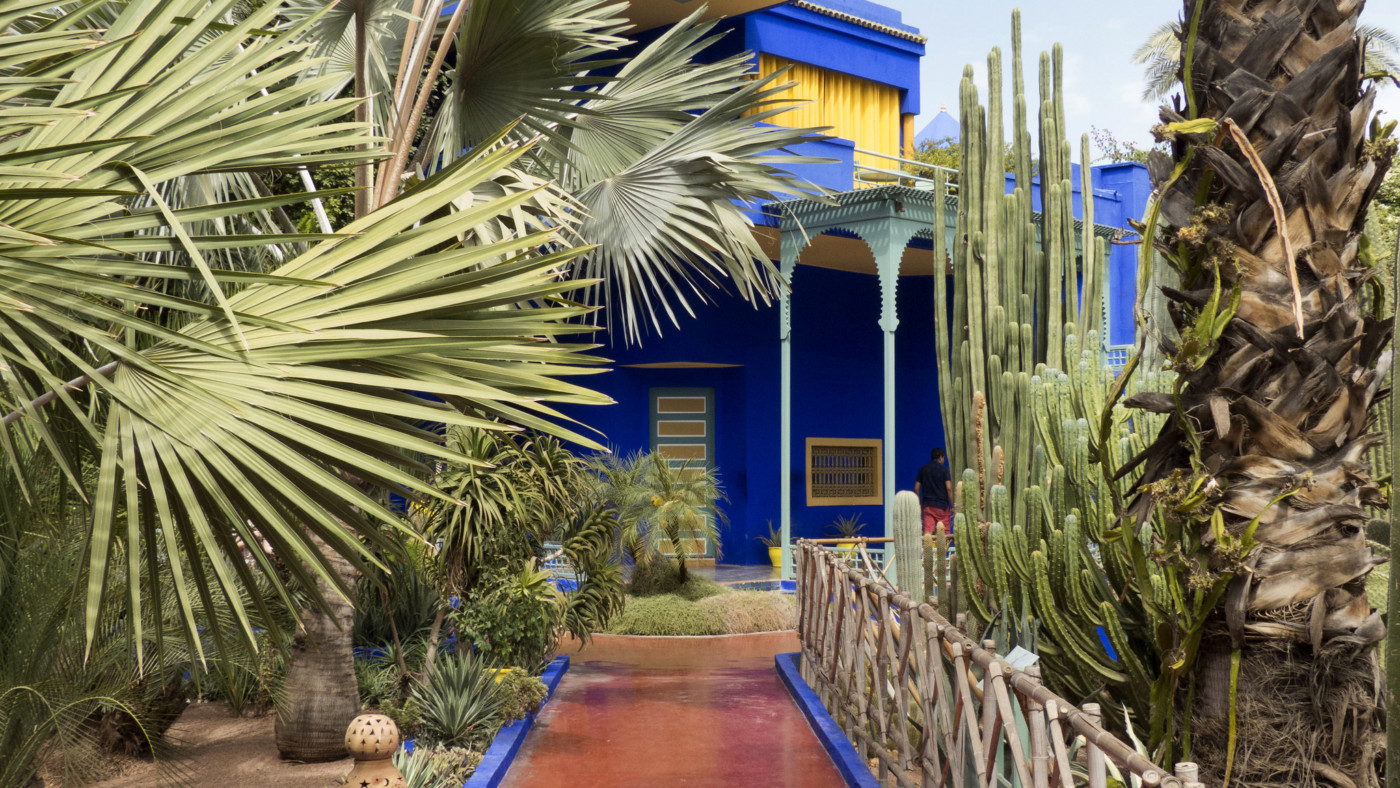 The history of jardin majorelle the marrakech garden that for Jardin yves saint laurent
