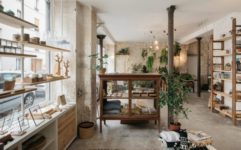5 Fabulous Eco-Friendly Concept Stores in Paris - Garden
